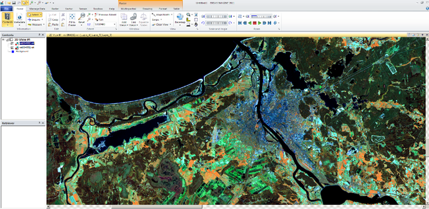 Erdas Imagine Ar Landsat Riga2